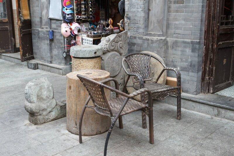 Уголок для беседы, Улица Дачжалань, Пекин