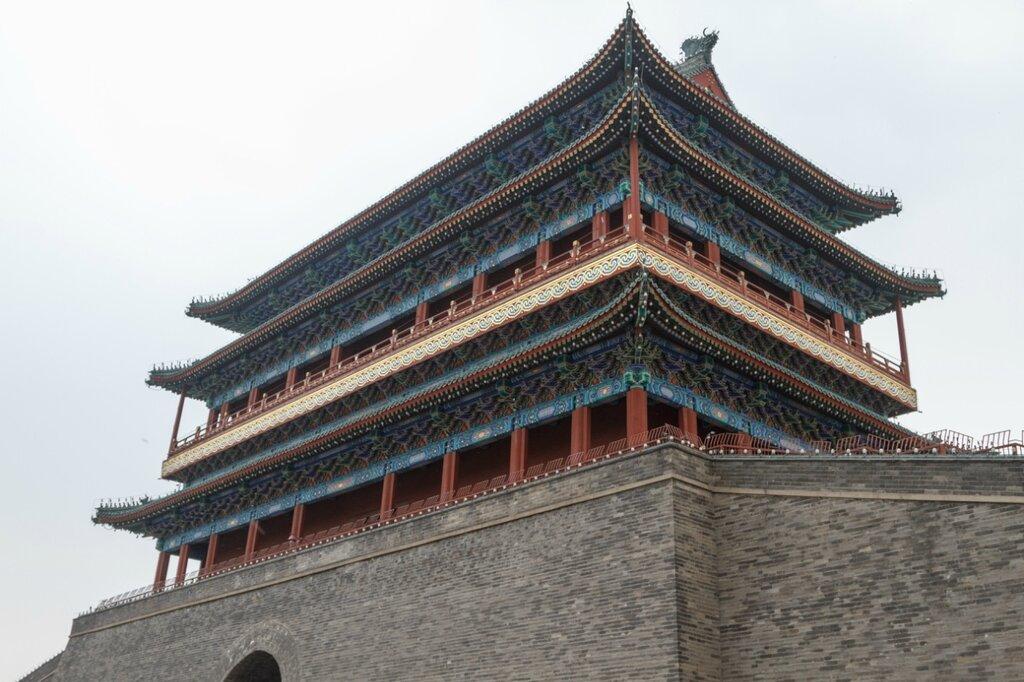 Ворота Чжэнъянмэнь (Цяньмэнь), Пекин