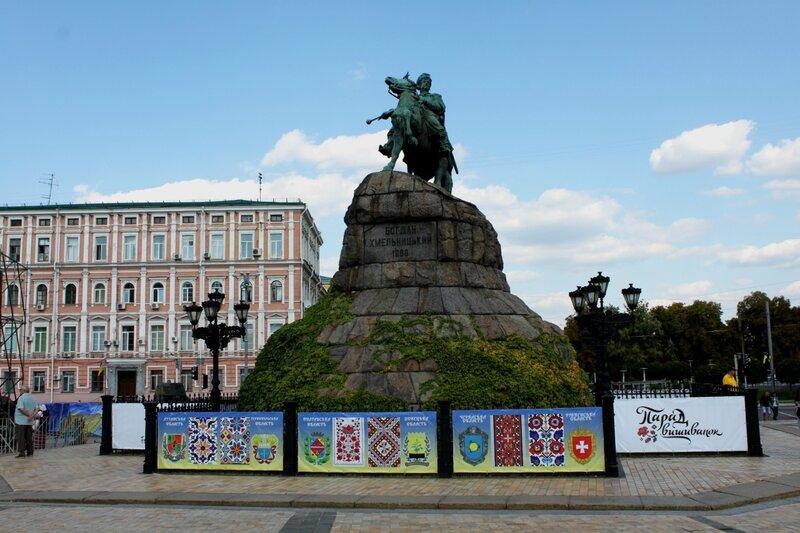 Парад вышиванок на Софиевской площади