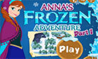 Анна Приключение игры Холодное Сердце
