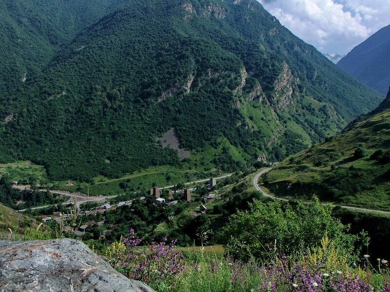 Вид на селение Харисджин