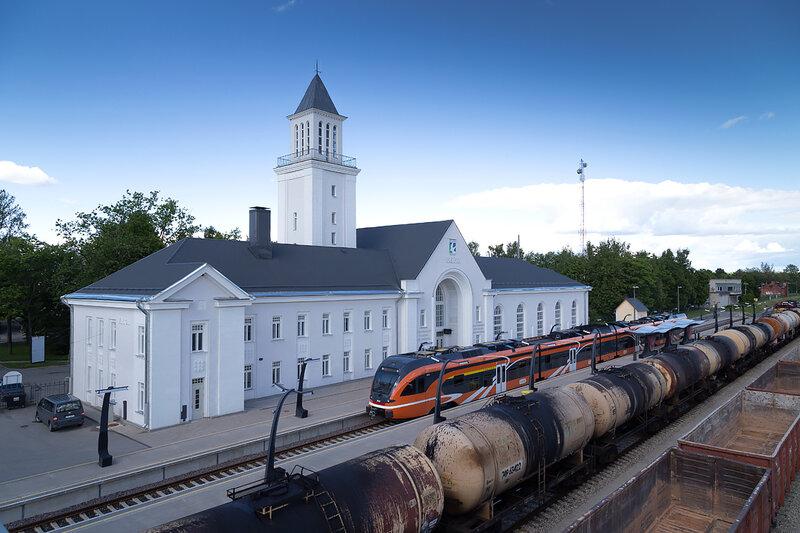 Валга, вокзал