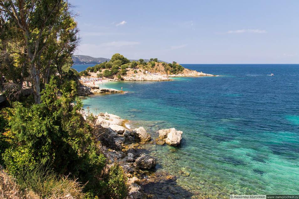 Побережье Кассиопи (Корфу)