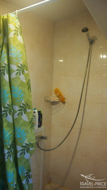 greenpoint hostel душ