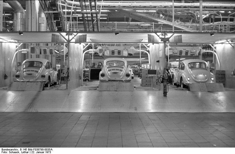 Wolfsburg, VW Autowerk, Kдfer