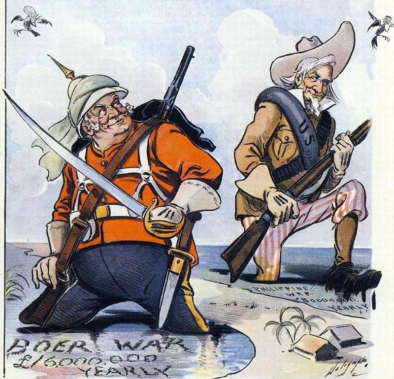 Компаньоны-захватчики (инициаторы англо-бурской и американо-филиппинской войны) - 1901 год