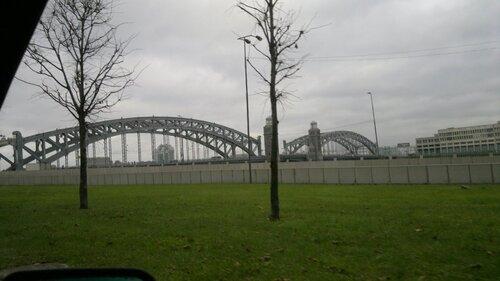мост Петра Первого через р.Нева