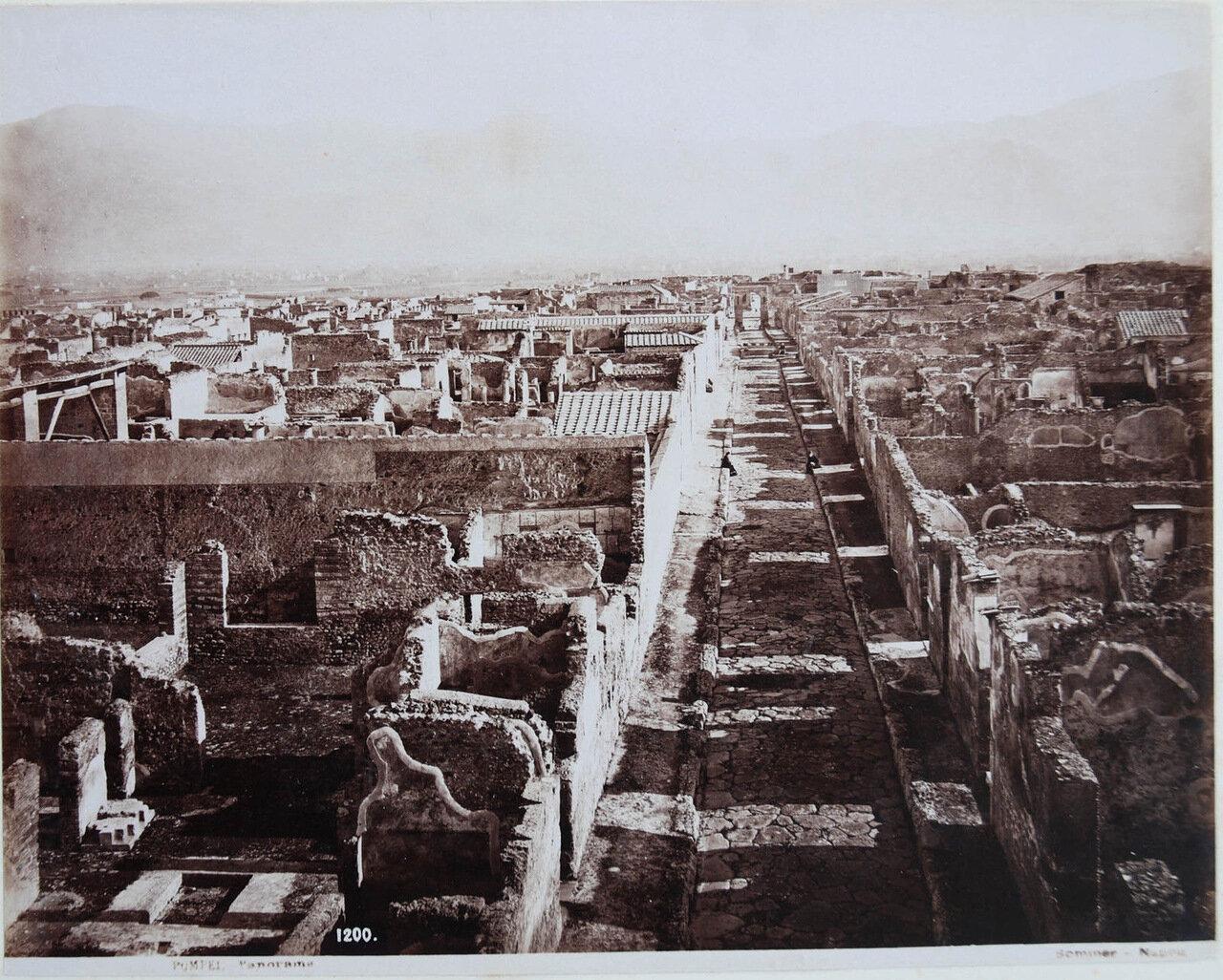 Панорама Помпей