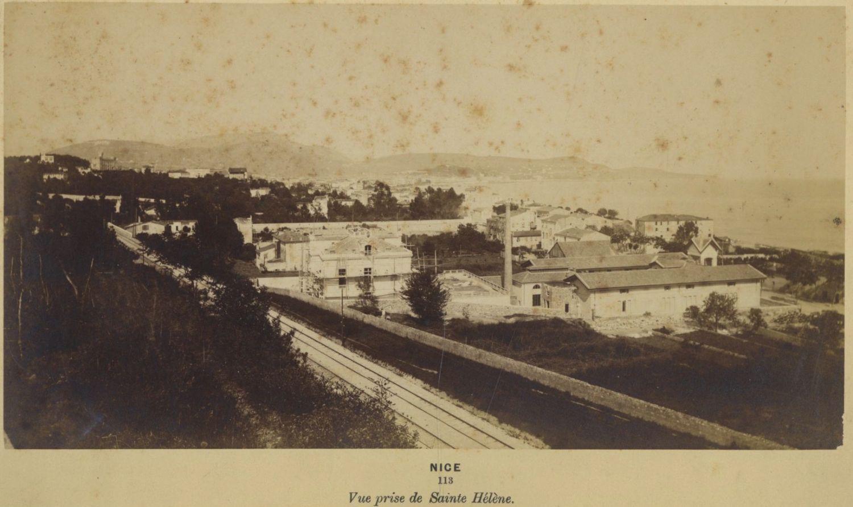 1880. Вид из Святой Елены