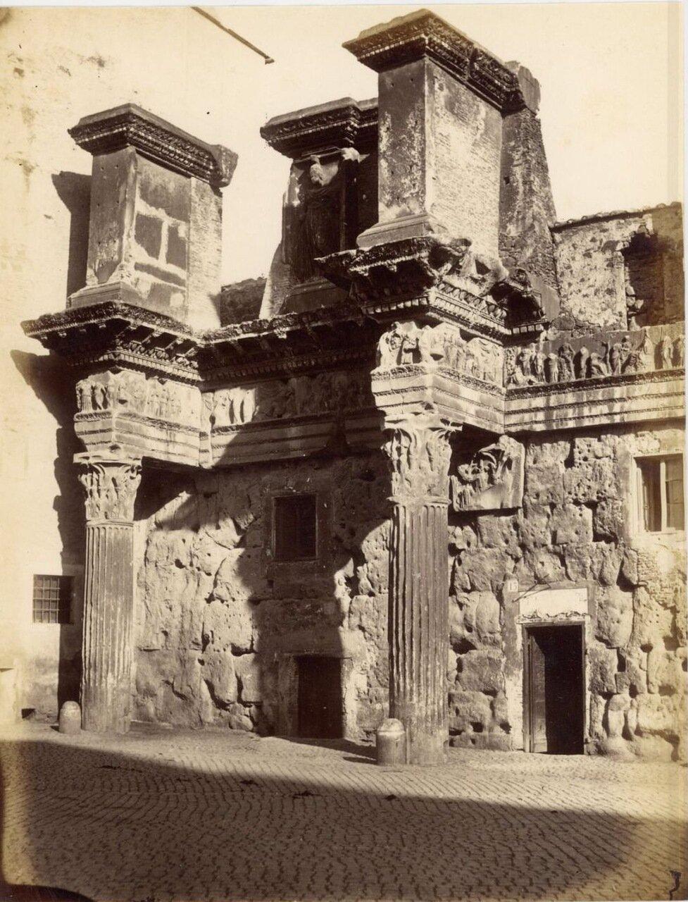 Форум Нервы. Колоннада. 1870