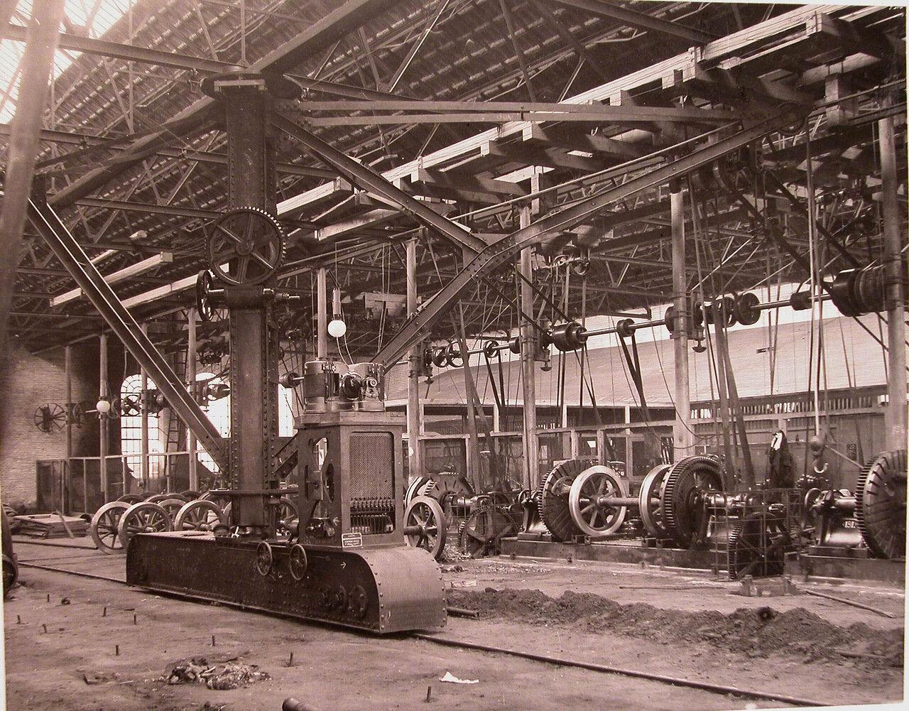 10. Внутренний вид механической мастерской общества