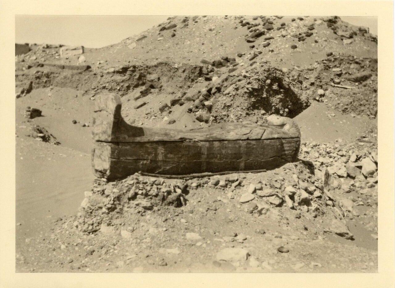 Саркофаг, обнаруженный в пустыне