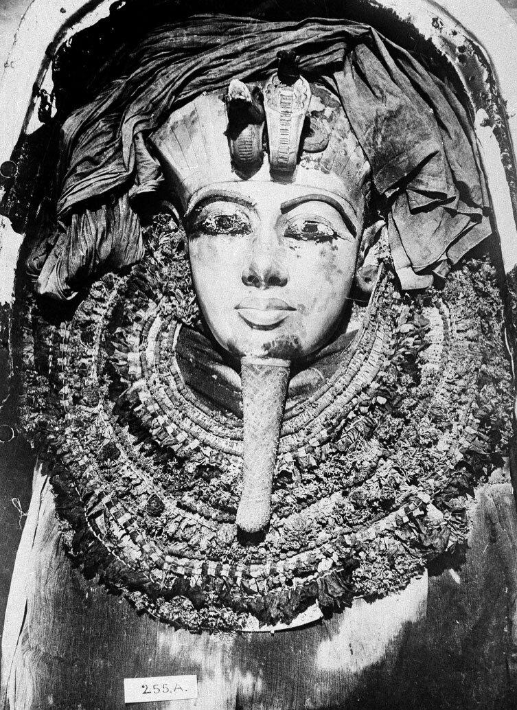 Из предметов обнаруженных в гробнице