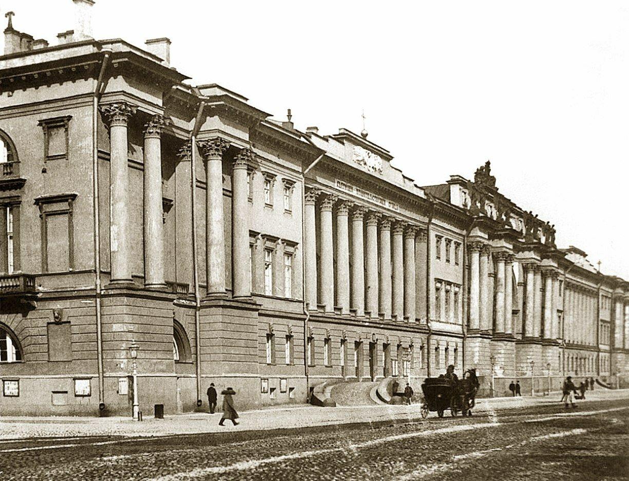 1910-е. Вид на церковь Семи Вселенских Соборов при Святейшем Правительствующем Синоде
