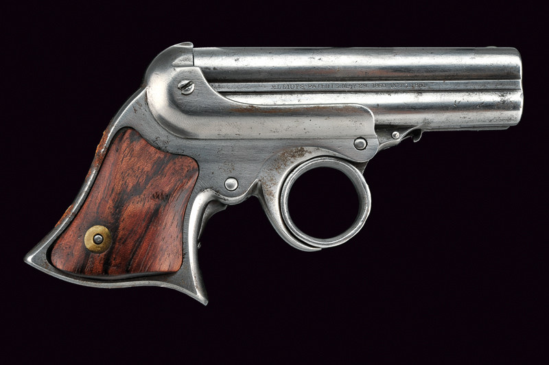Excellent condition Remington Elliot derringer, mid to late 19th century.jpg
