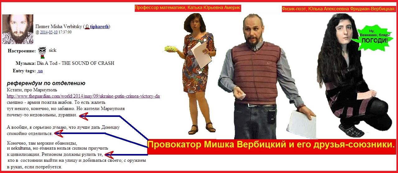 Украина, Вербицкий, Фридман, Америк, Донецк референдум
