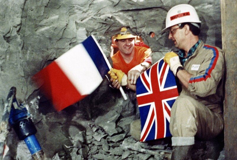 BRITAIN-FRANCE-TRANSPORT-ANNIVERSARY-FILES