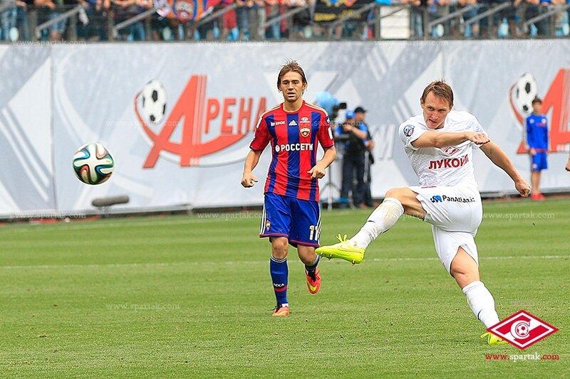 ЦСКА vs «Спартак» 0:1 Премьер-лига 2014-2015 (Фото)