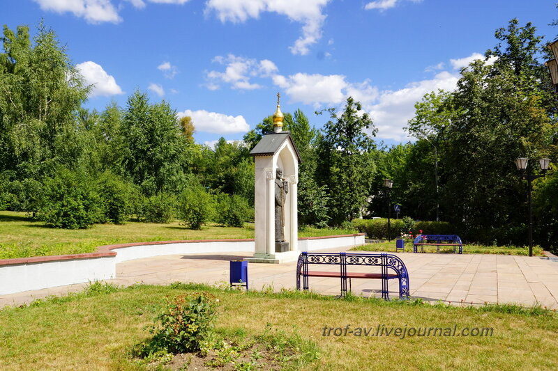 Памятник Николаю Чудотворцу, Дзержинский