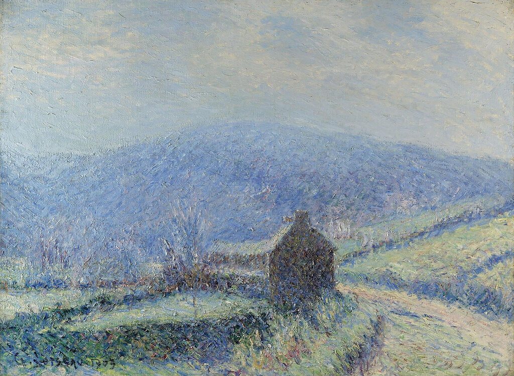 Gustave Loiseau - The Frost at Huelgoat, Finistere, 1903.jpeg