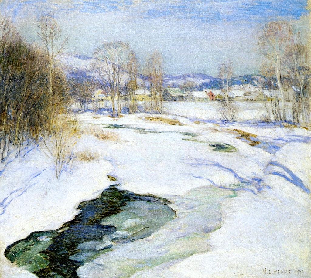Icebound Brook (aka Winter's Mantle), 1922.jpeg