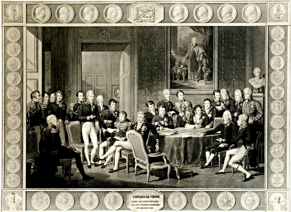 an analysis of the topic of the delegates at the congress of vienna