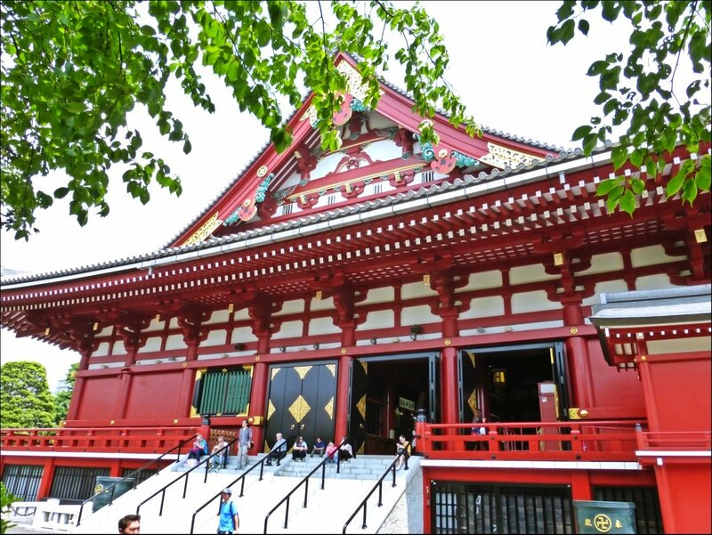 Храм Сенсо-дзи Asakusa Tokyo
