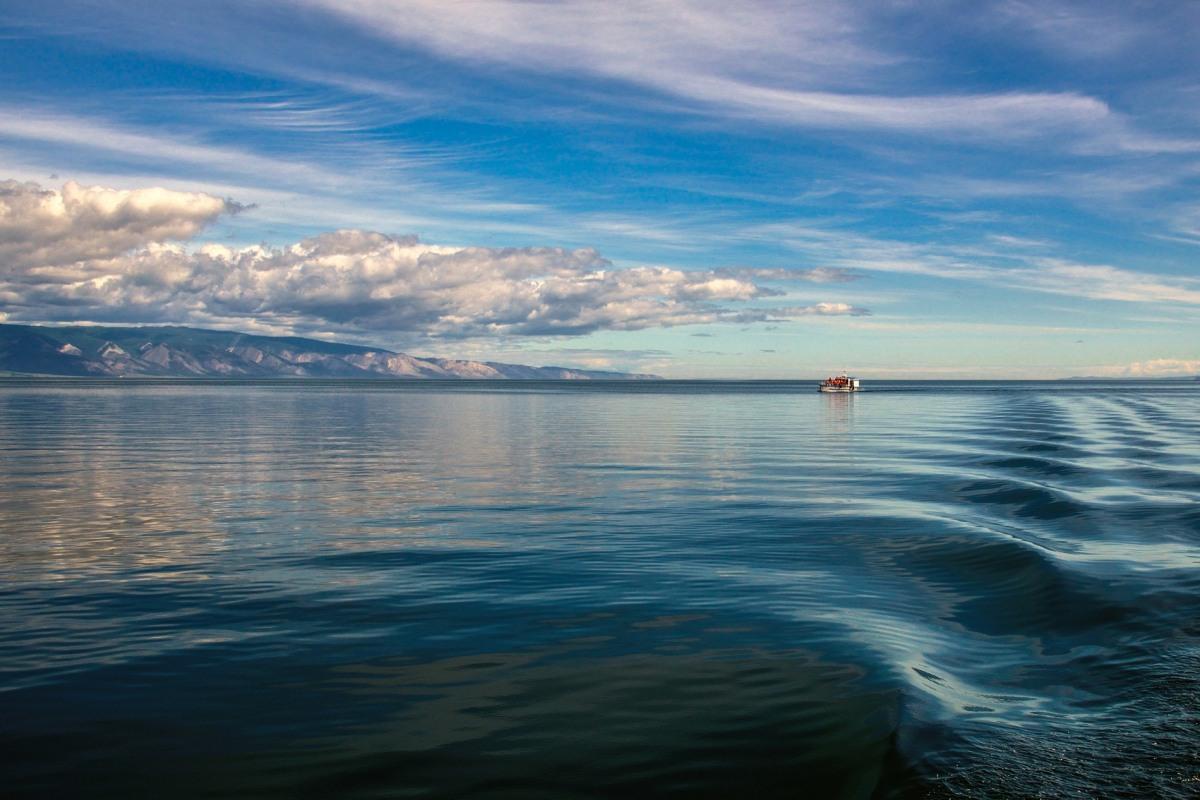 в просторах Байкалского озера