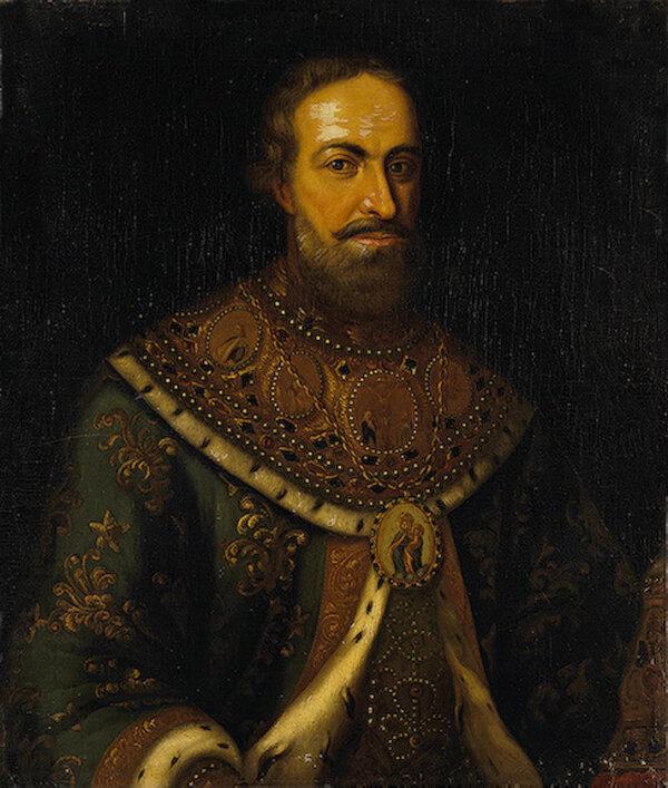 Портрет патриарха Филарета, отца Михаила Романова.