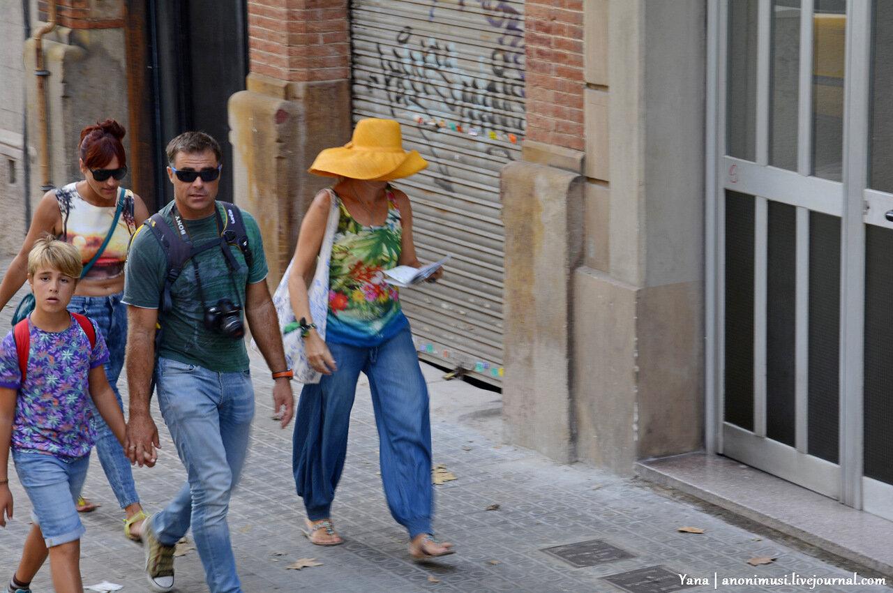 Воскресенье в Барселоне