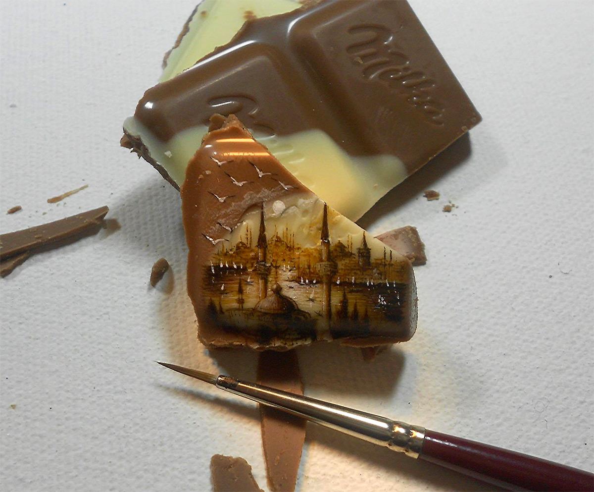 Миниатюрная живопись Хасана Кале
