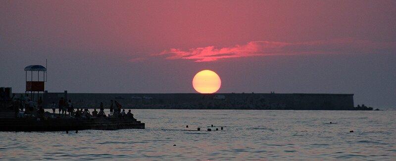 Закат. Севастополь