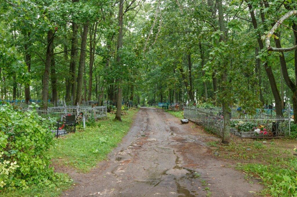 Старинное кладбище, Изборск, Труворово городище