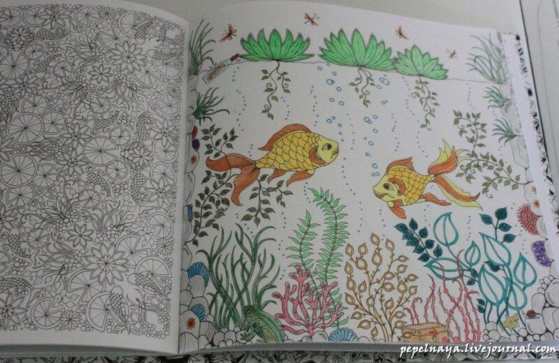 Раскраска таинственный сад где купить