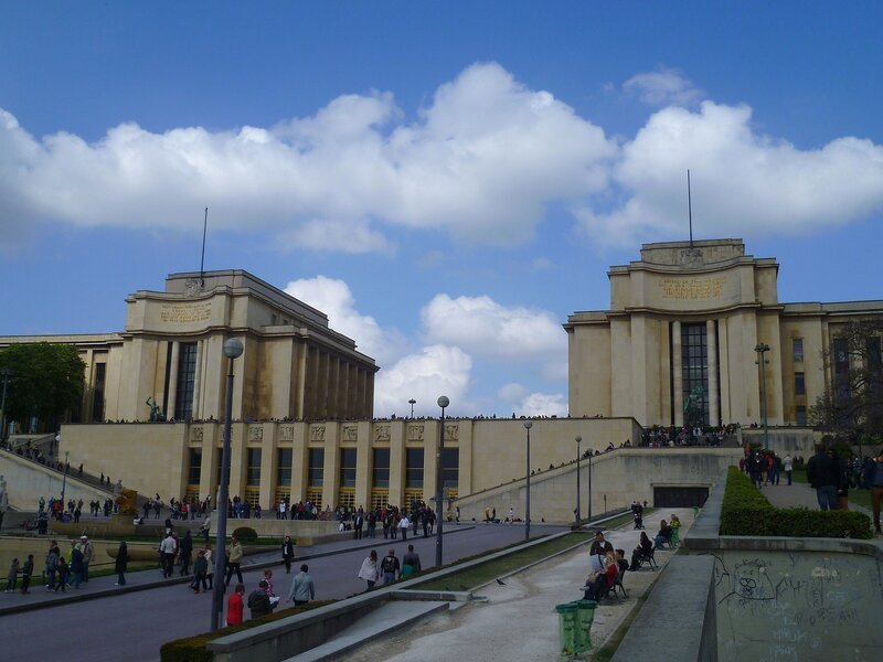 Париж, дворец Шайо (Paris, Palais de Chaillot)