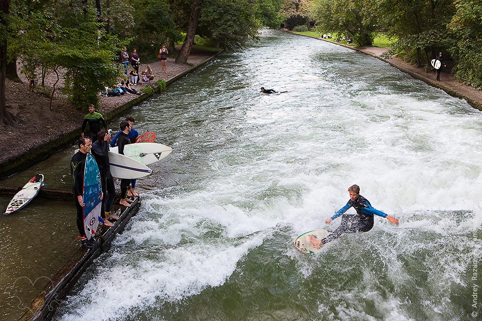 серфинг в Мюнхене