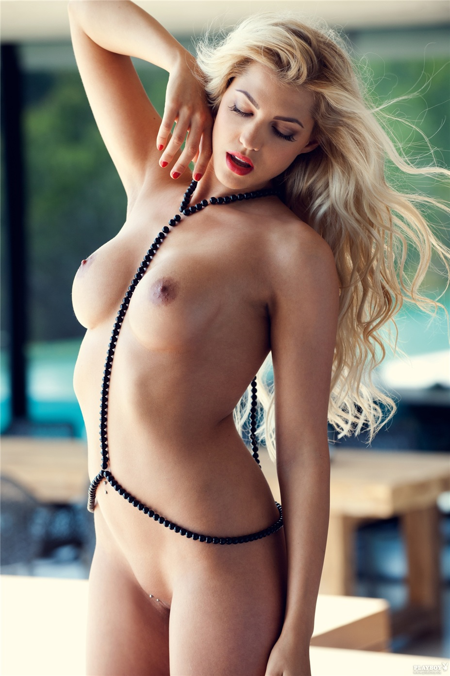 Девушка месяца Сара Новак / Sarah Nowak - Playboy Germany august 2014