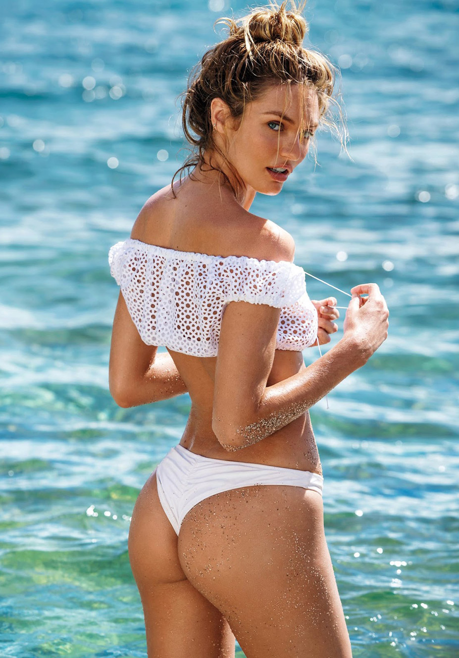 Кэндис Свейнпол / Candice Swanepoel by Gilles Bensimon in Maxim US march 2015