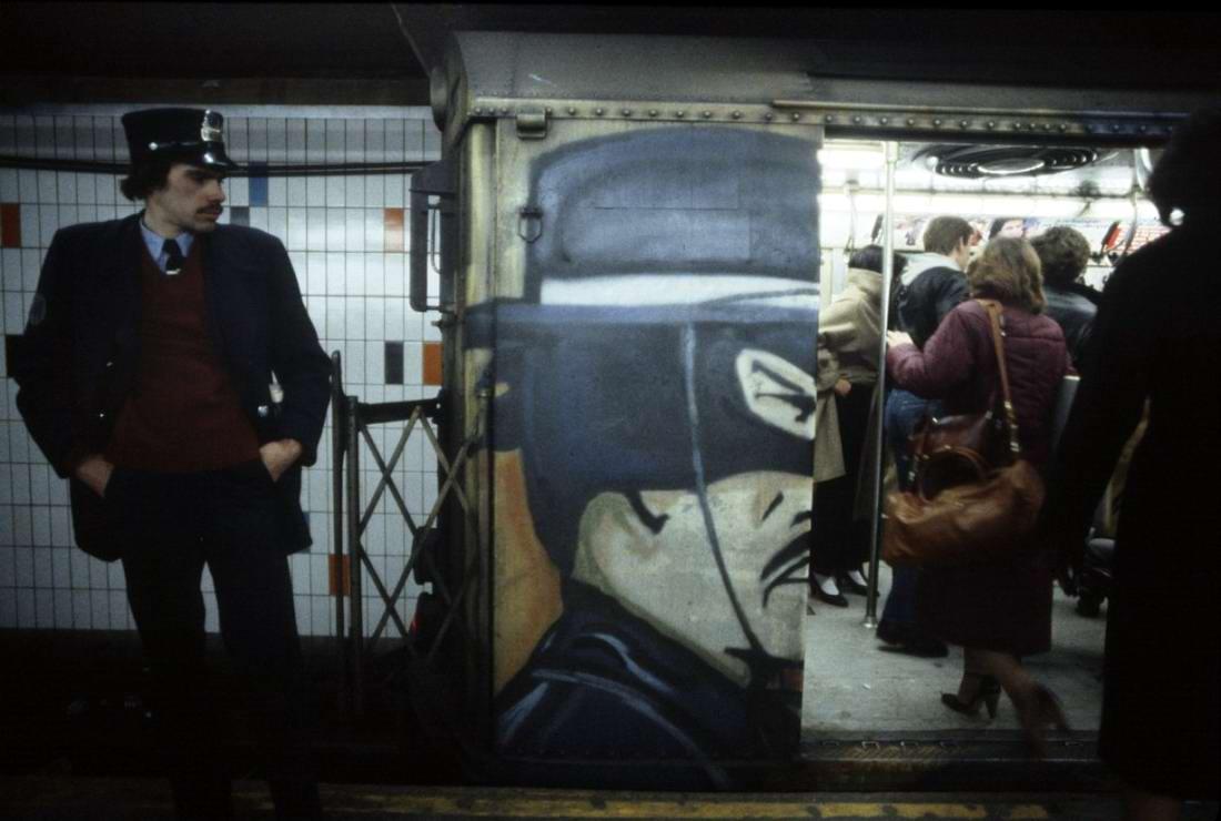 Американский фотограф Christopher Morris: Граффити и андеграунд нью-йоркского метро (26)