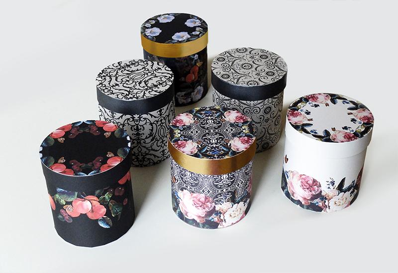 производство круглых подарочных коробок