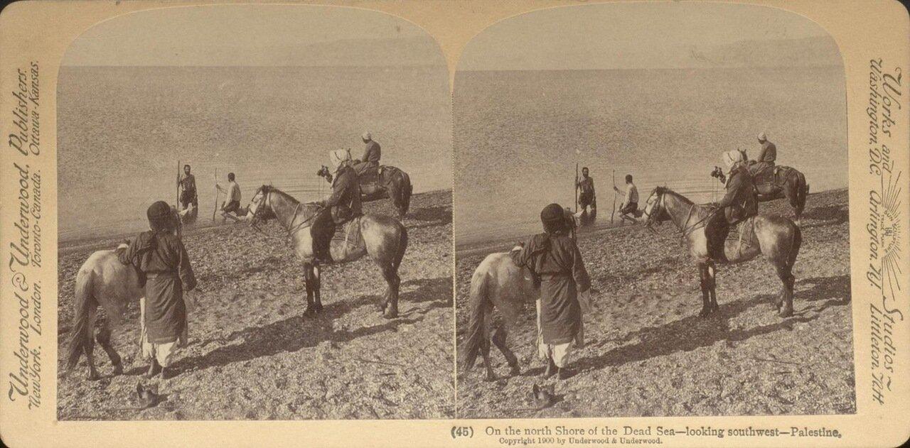 На северном берегу Мертвого моря. 1900