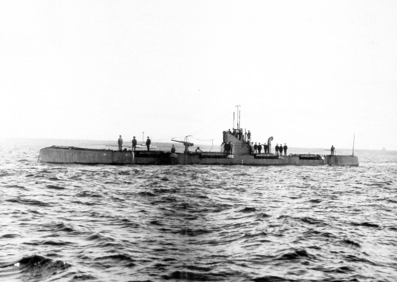 22. Подводная лодка «Барс»