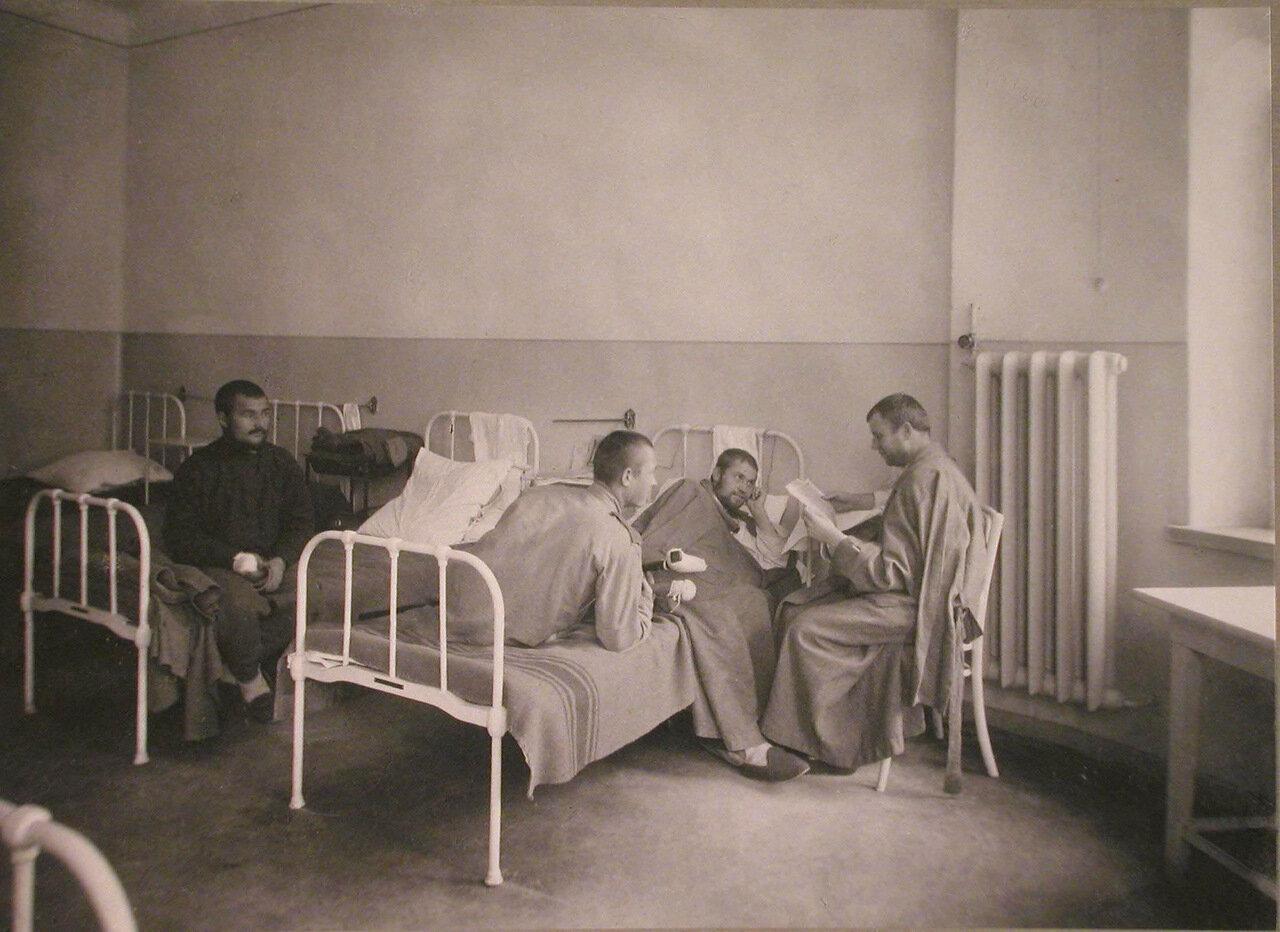 17. Раненые в одной из палат лазарета при санатории имени Четверикова