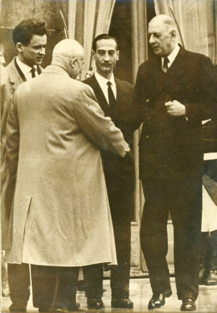 1960. Хрущев и Де Голль. Встреча в Париже