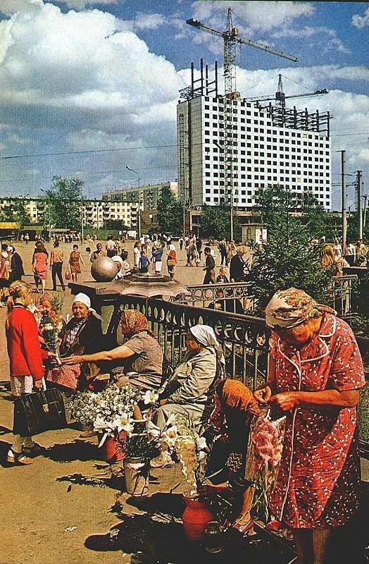 Новосибирск. На Вокзальной площади