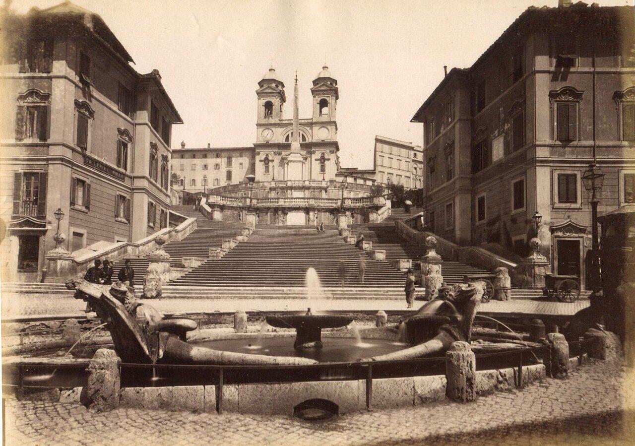 Испанская лестница. 1870.