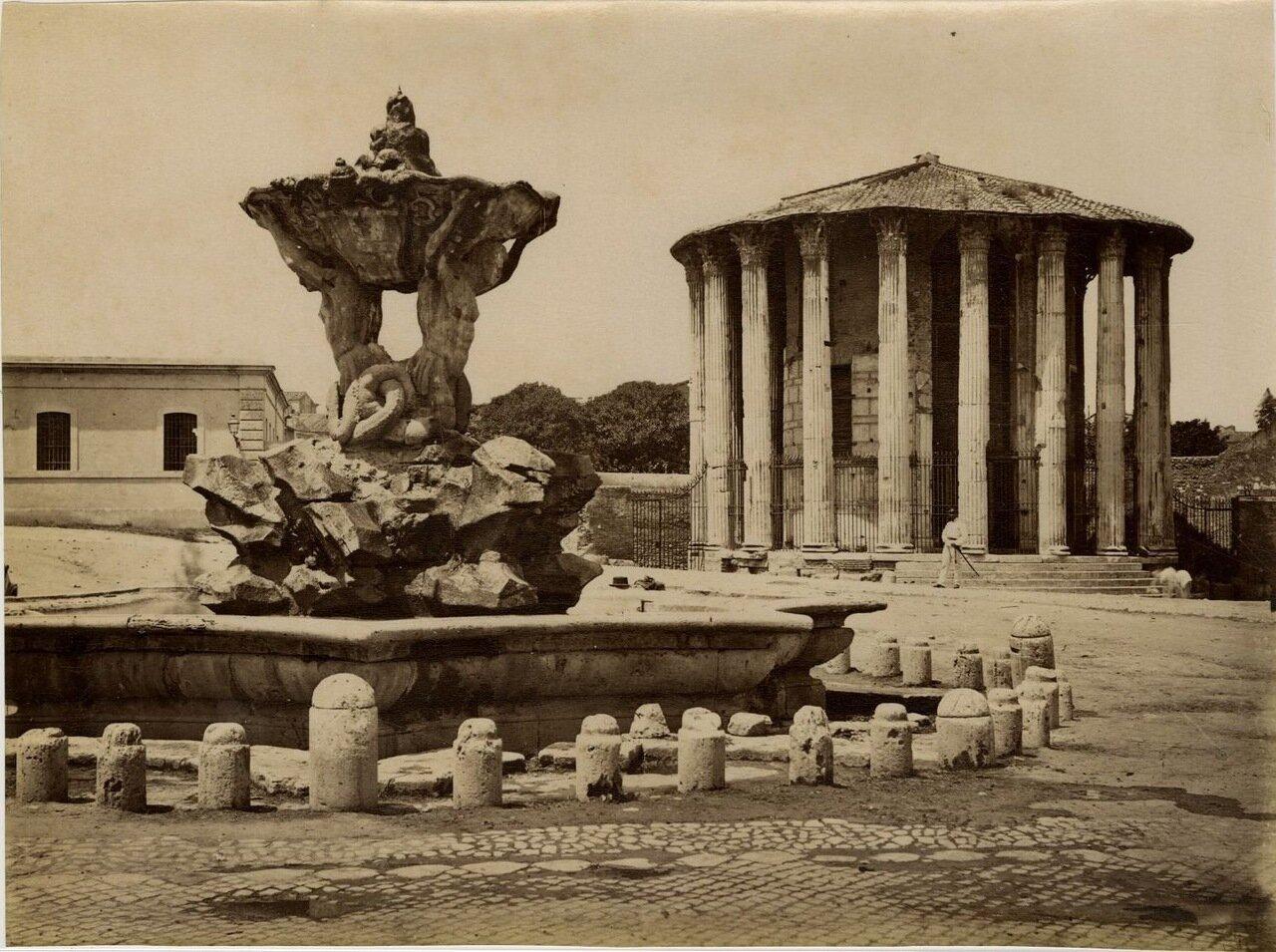 Храм Геркулеса. 1870