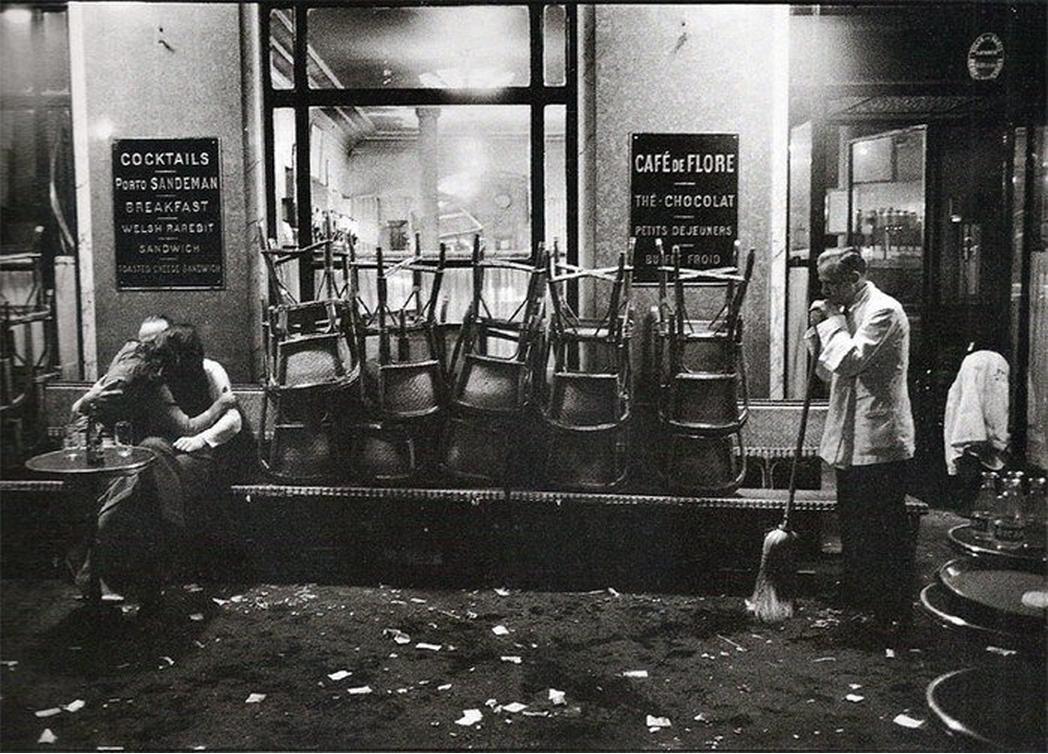1958. Кафе де Флор