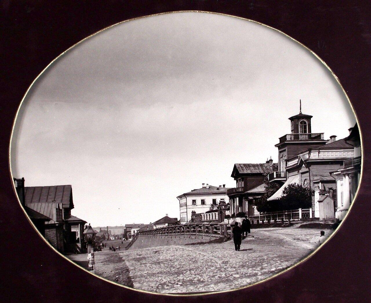 06. Вид на Казанскую улицу с южной стороны