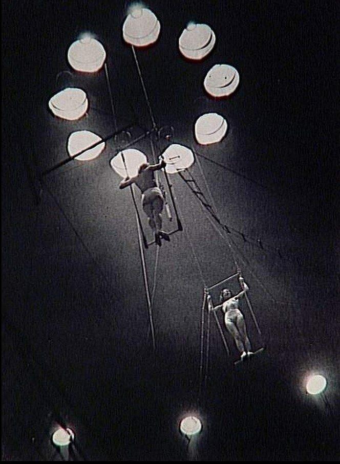 1932. Воздушные гимнасты, Цирк Медрано